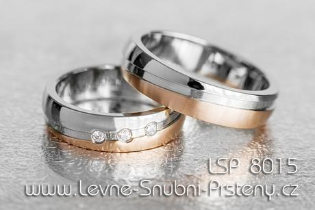 Snubní prsteny LSP 8015 - Obrázek č. 1