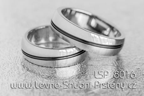 Snubní prsteny LSP 8016 - Obrázek č. 1