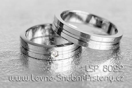 Snubní prsteny LSP 8022 - Obrázek č. 1