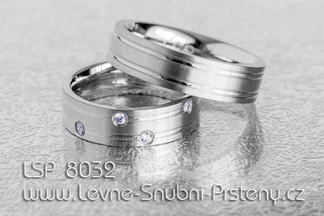 Snubní prsteny LSP 8032 - Obrázek č. 1