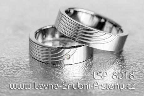 Snubní prsteny LSP 8018 - Obrázek č. 1