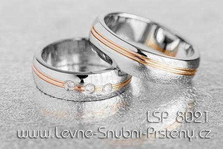 Snubní prsteny LSP 8021 - Obrázek č. 1
