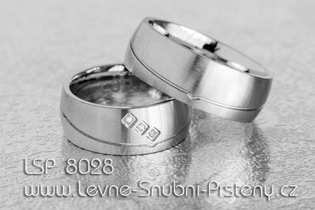 Snubní prsteny LSP 8028 - Obrázek č. 1