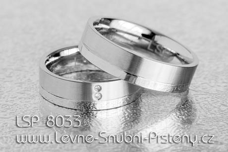 Snubní prsteny LSP 8033 - Obrázek č. 1