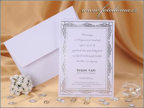 Svatební oznámení 0927 Mottak.cz s.r.o. - Obrázek č. 1
