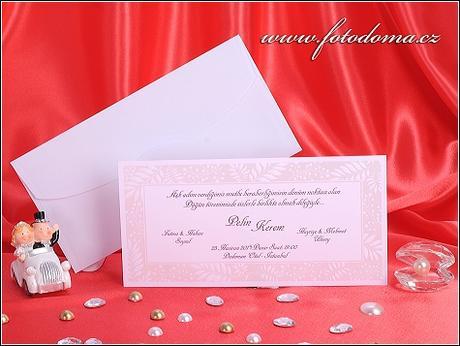 Svatební oznámení 3264 Mottak.cz s.r.o. - Obrázek č. 1