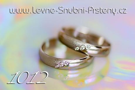 Snubní prsteny LSP 1012b - bez kamene, zlato 14 k. - Obrázek č. 1