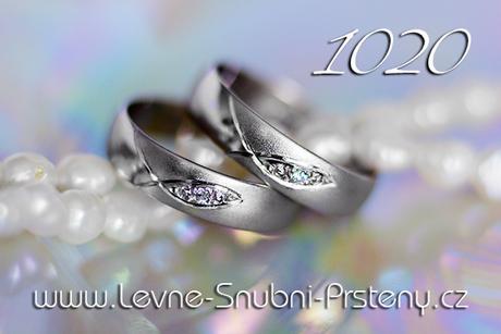 Snubní prsteny LSP 1020bz - bez kamene, zlato 14k. - Obrázek č. 1
