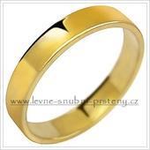 Snubní prsteny LSP 1029 - bez kamene, zlato 14 k.,