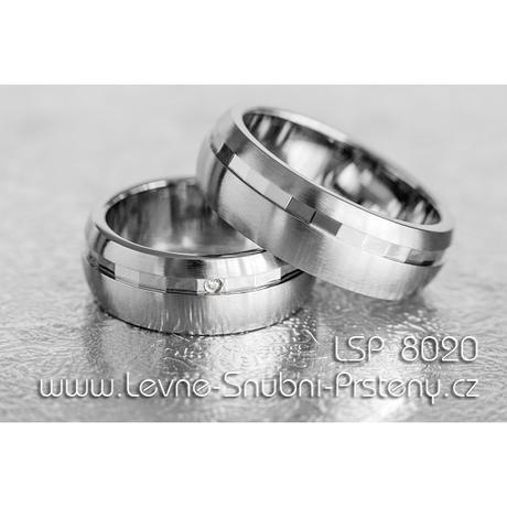 Snubní prsteny LSP 8020 - Obrázek č. 1