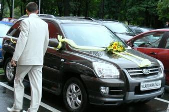 Naše svadobne auto
