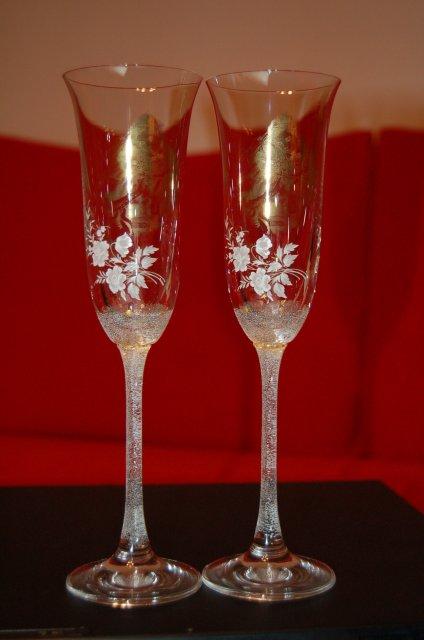 L + L - naše svadobné poháre