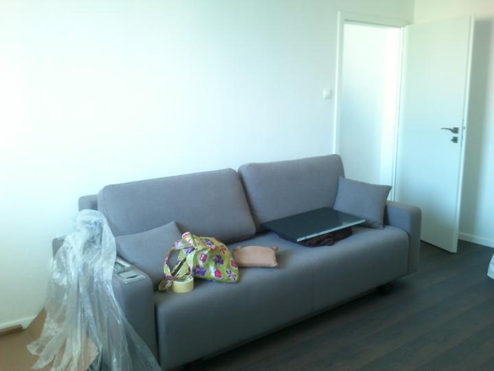 Moj bytik :))) - sedacko postel :)