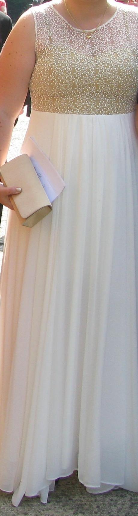 Jednoduché svadobné alebo spoločenské šaty - Obrázok č. 2