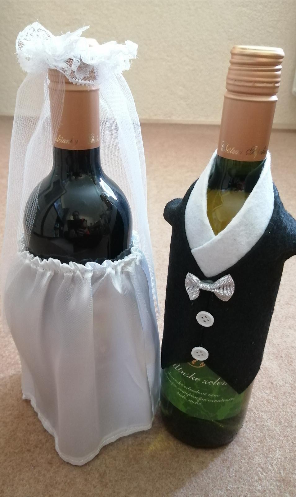 Ozdoba na fľašu  - Obrázok č. 2