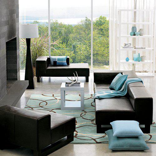 Ako si staviame sen - inšpirácie na interiér - FARBY - tyrkysova & hneda, nasa oblubena kombinacia