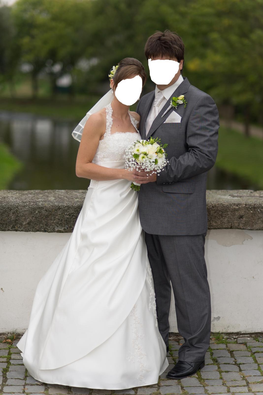 svatební šaty vel.34,36,38 - Obrázek č. 1