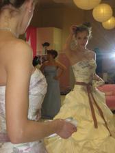 ja a moje vysnívané šaty:)