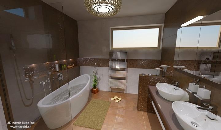 3D návrh kúpeľne - 3D návrh kúpeľne