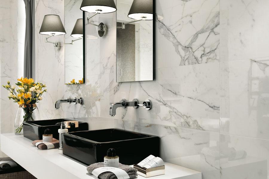 Biele kúpeľne - Black & White - www.tarchi.sk/Kupelna