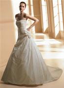 Moje svadobné šaty na modelke