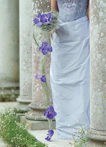 Majka a Andrej 11.10.2008 na moju 30 - moja kytička, ale bude s bielymi orchideami