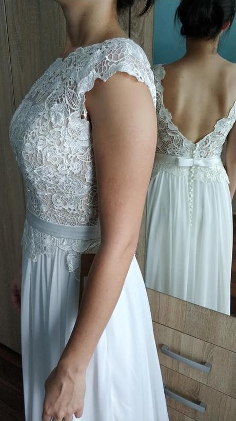 Svadobné šaty - ešte nenosené, s visačkou - Obrázok č. 1