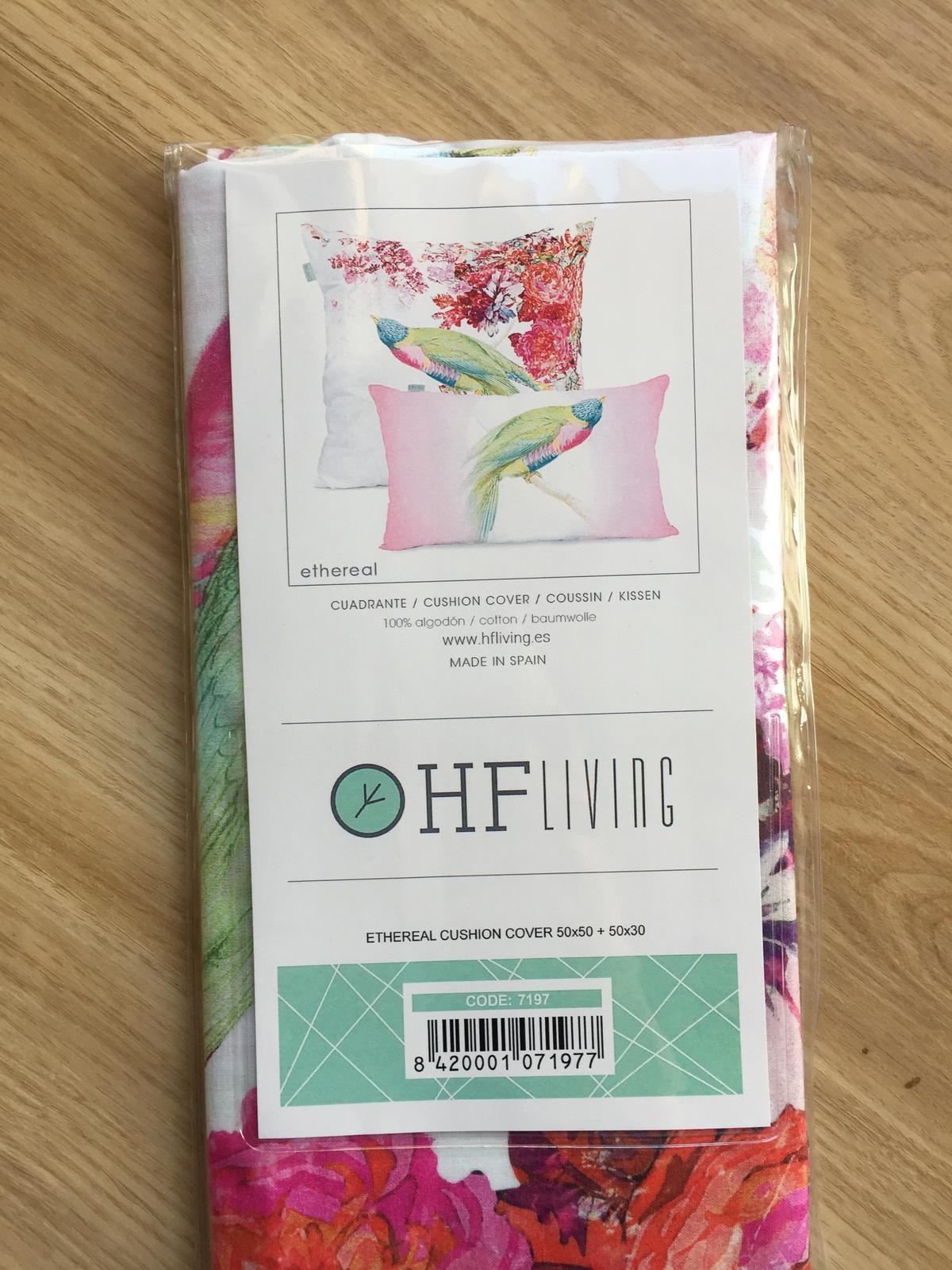 Sada 2 bavlněných povlaků na polštář HF Living - Obrázek č. 1