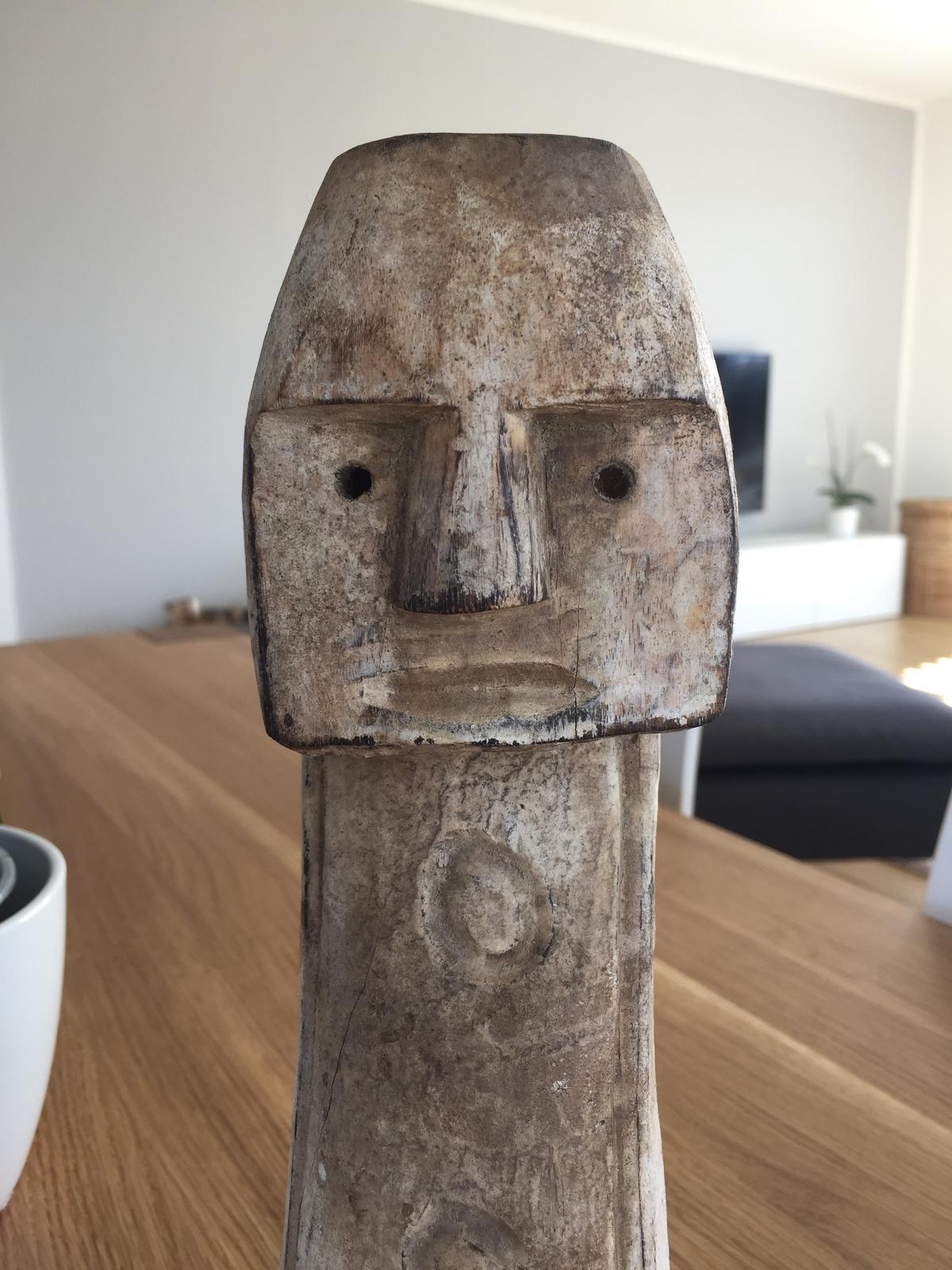 Dřevěná soška - Obrázek č. 2