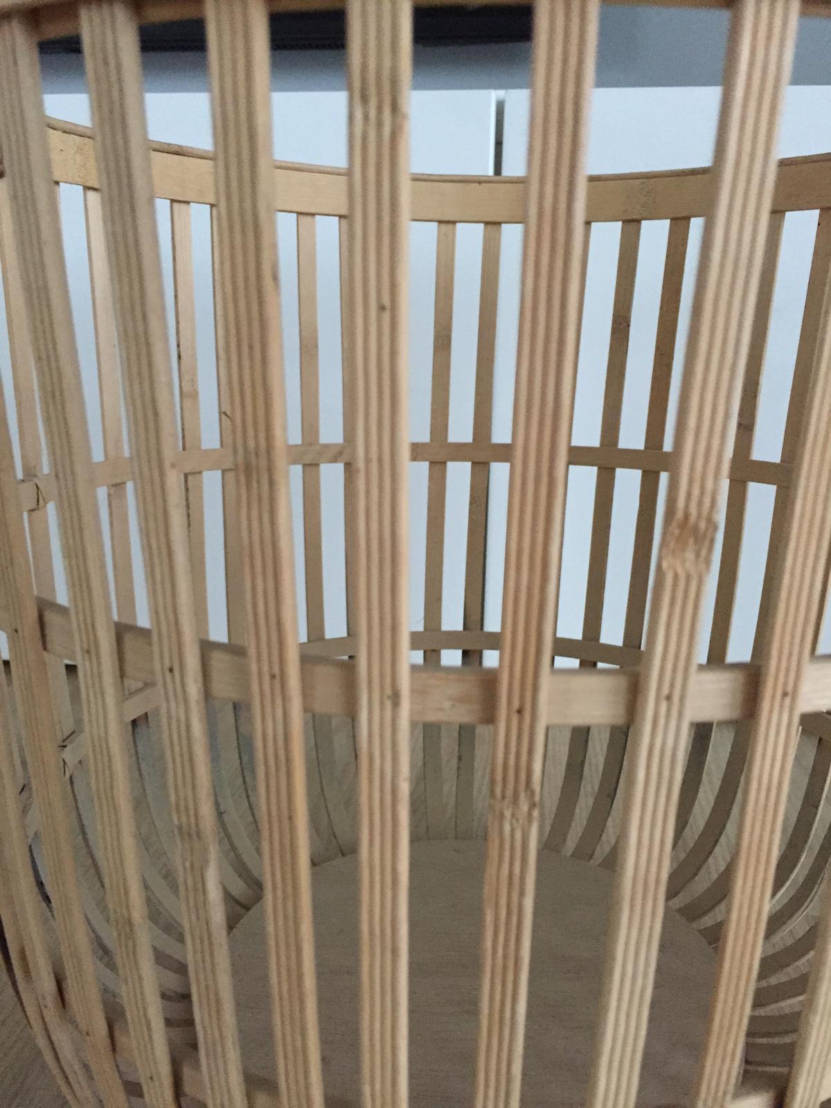 Bambusový koš Hübsch - Obrázek č. 4