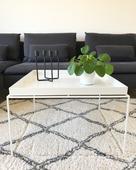 Stolek Hay Tray table 60x60cm, bílý,