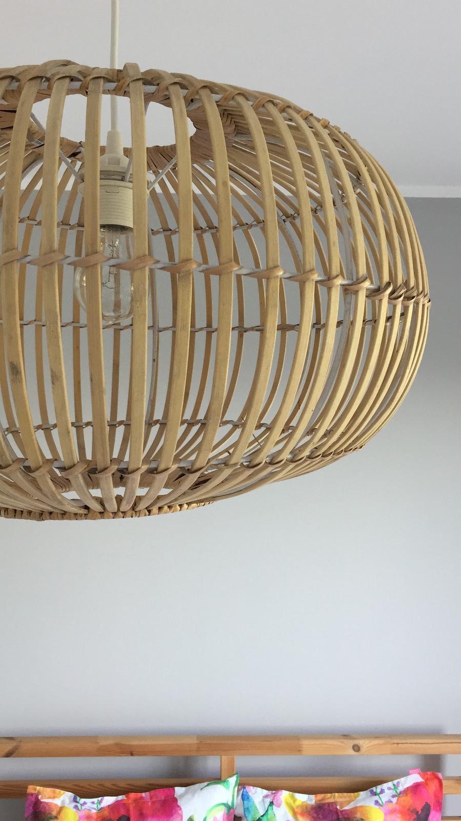 Bambusová lampa ZEP 48 cm - Obrázek č. 4