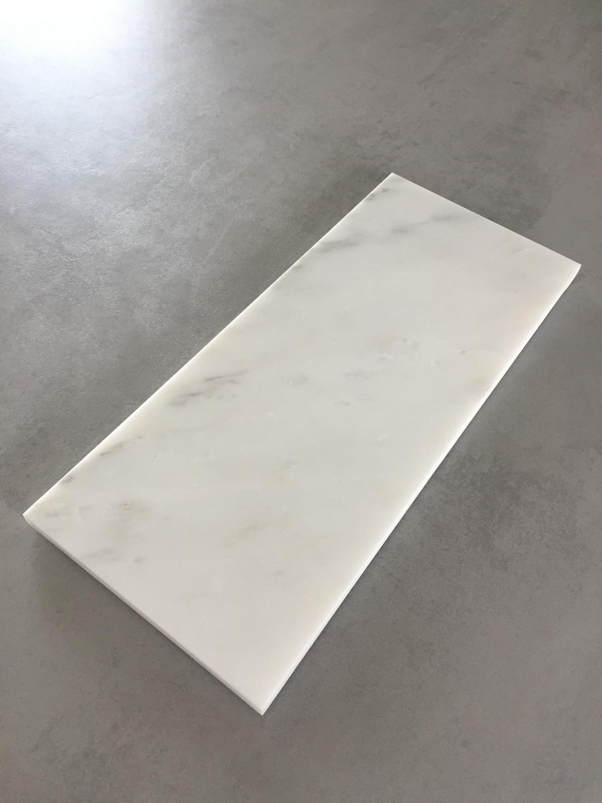 Servírovací tác Marble White 30x13cm - Obrázek č. 1