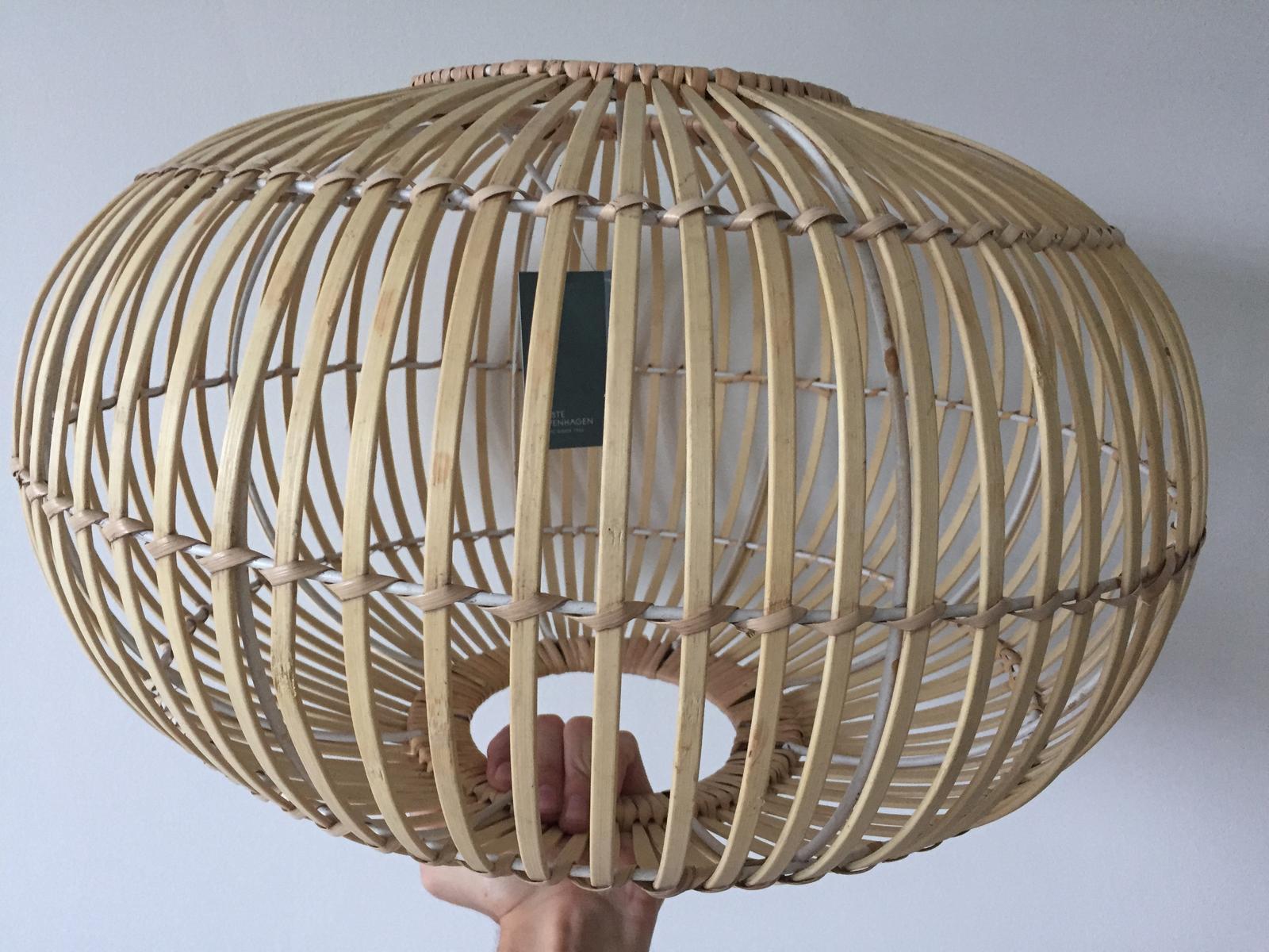 Bambusová lampa ZEP 48 cm - Obrázek č. 1
