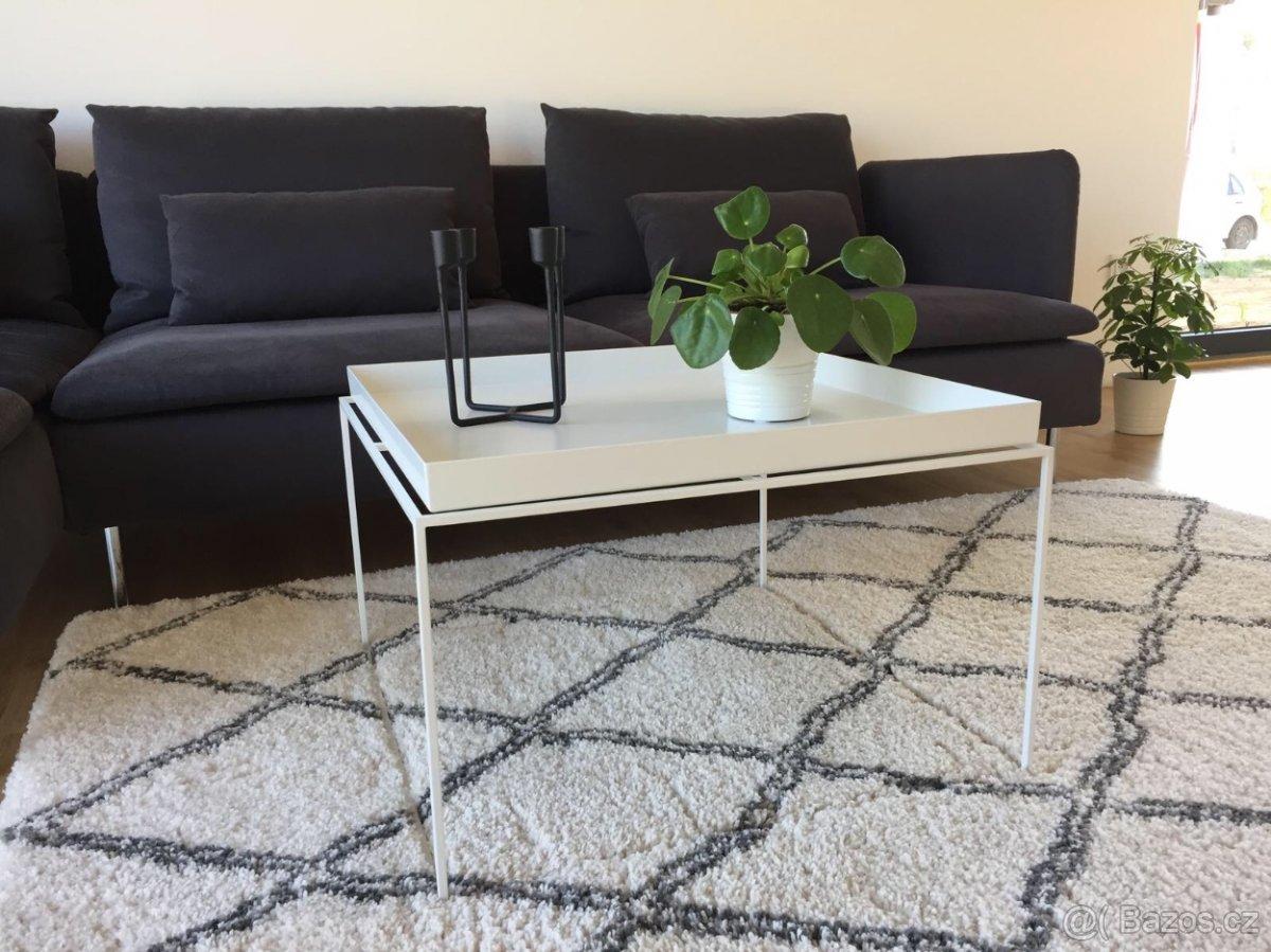 Designový konferenční stolek Hay Tray rable, 60x60 cm bílý - Obrázek č. 2