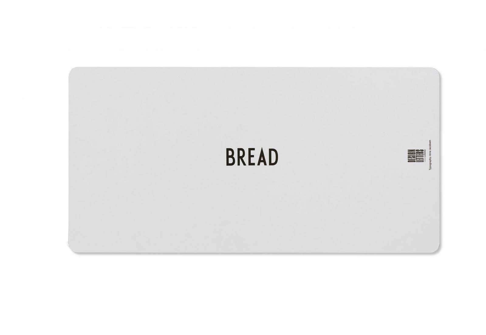 Dřevěné šedé prkénko B (Design Letters) - Obrázek č. 3