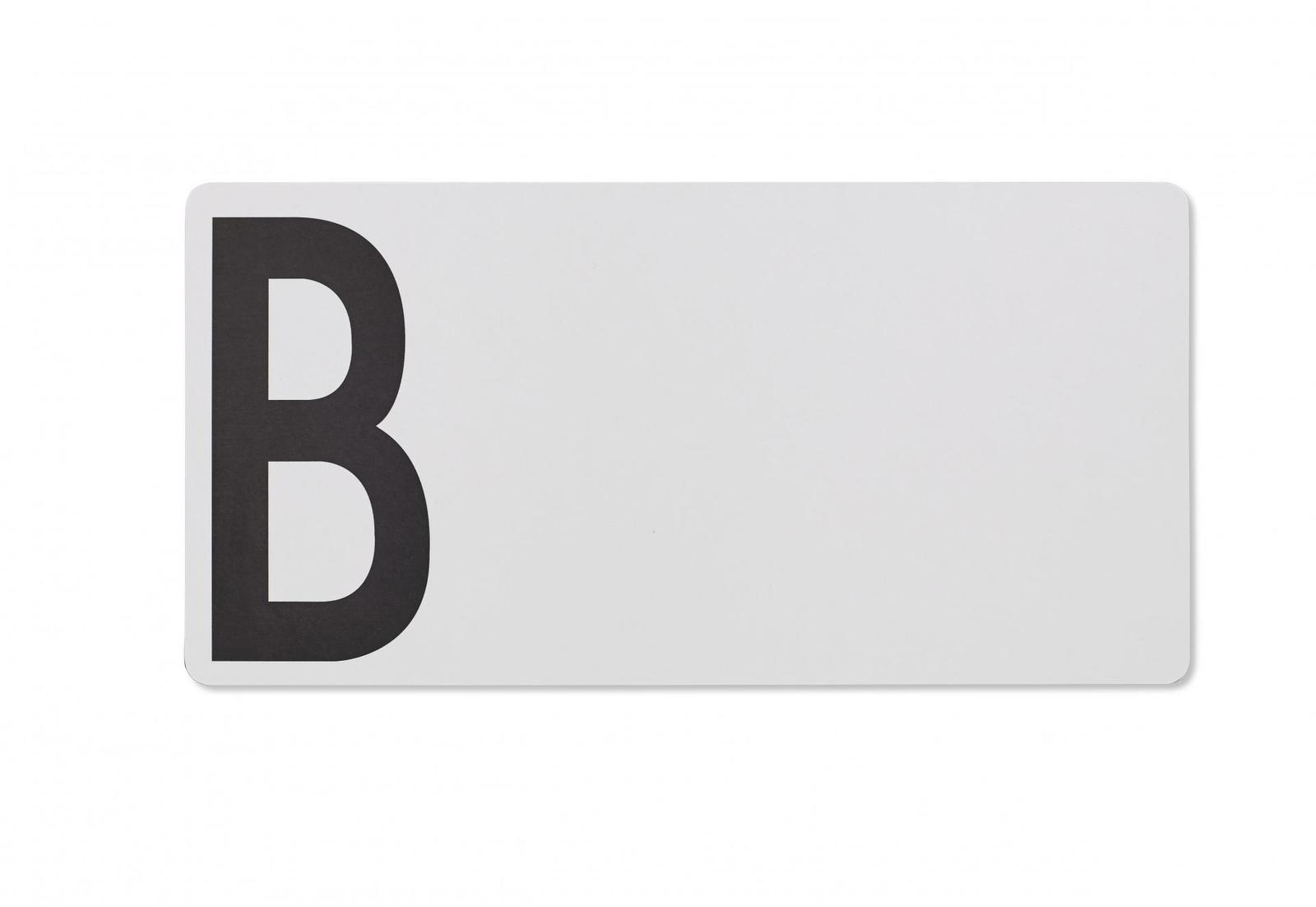 Dřevěné šedé prkénko B (Design Letters) - Obrázek č. 4
