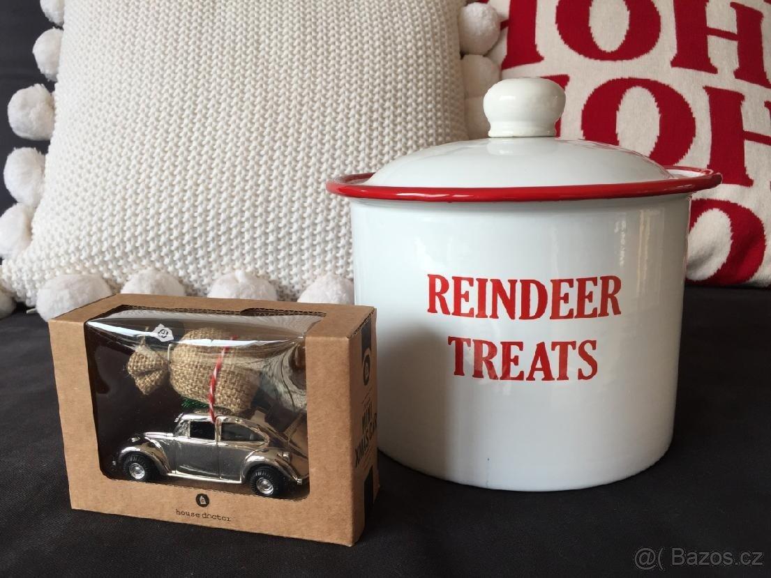 Vánoční kovová dóza Reindeer treats (Bloomingville) - Obrázek č. 2