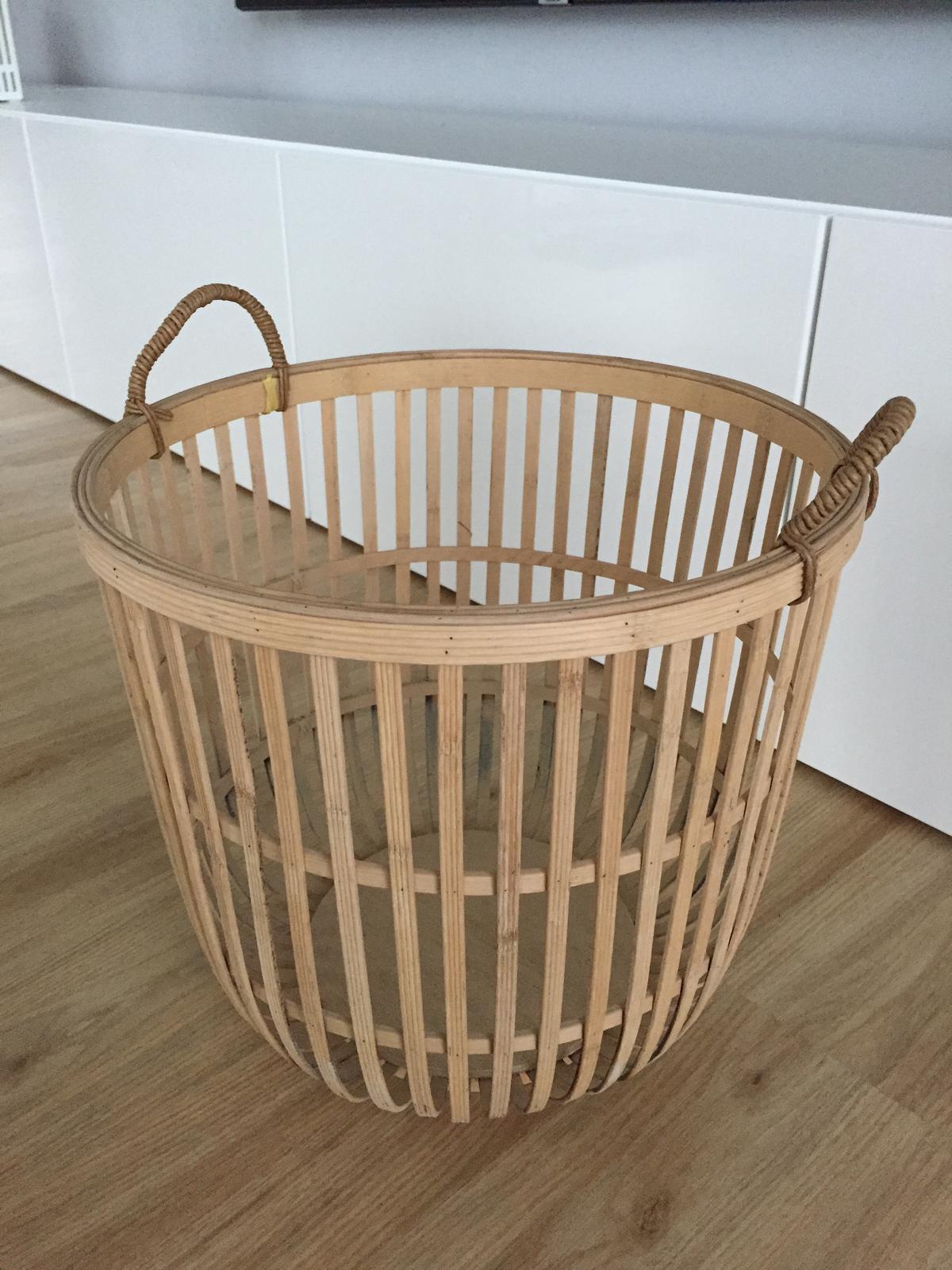 Bambusový koš Hübsch - Obrázek č. 2