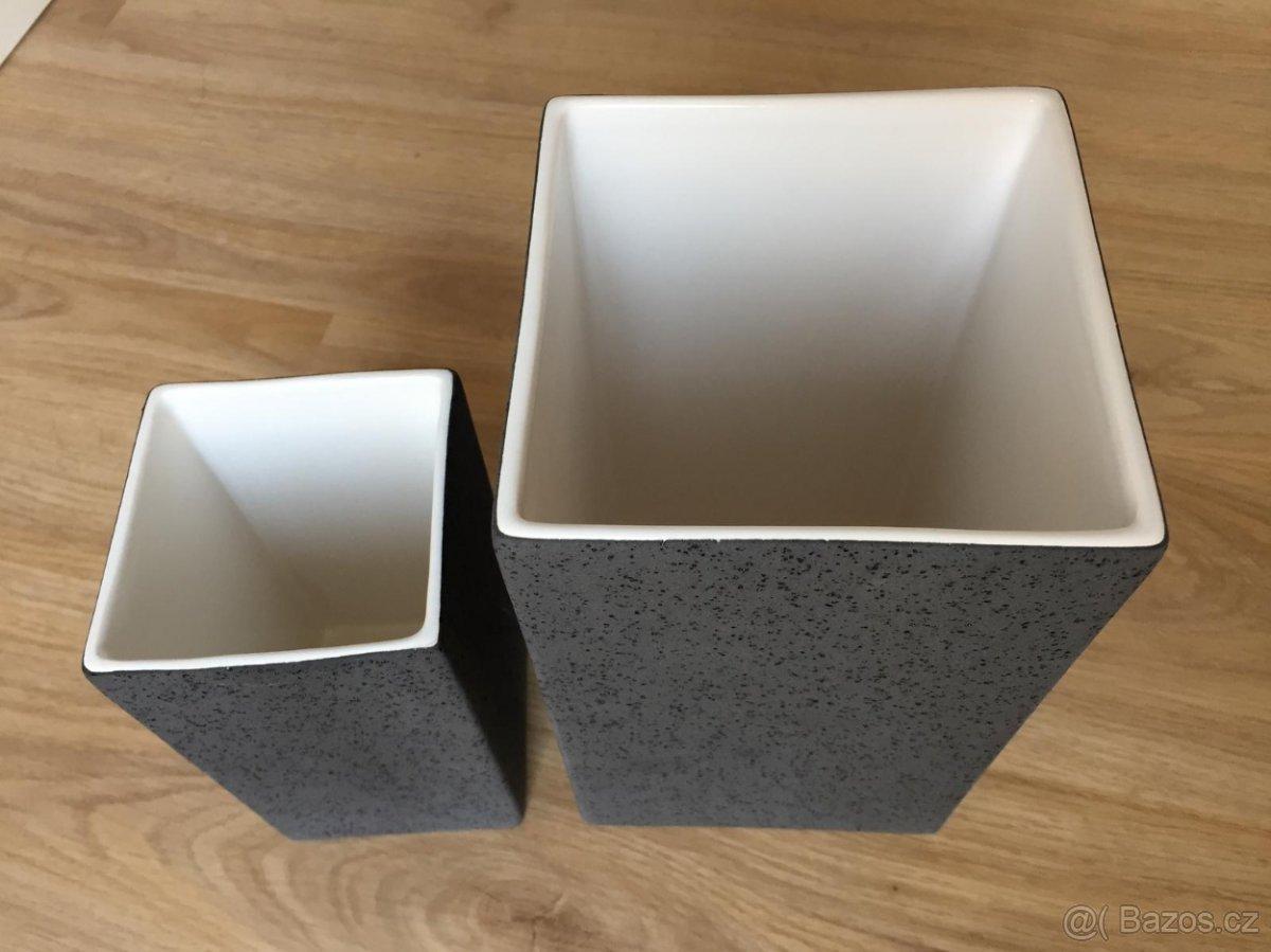 Vázy Quadro Lava (ASA Selections) - Obrázek č. 2