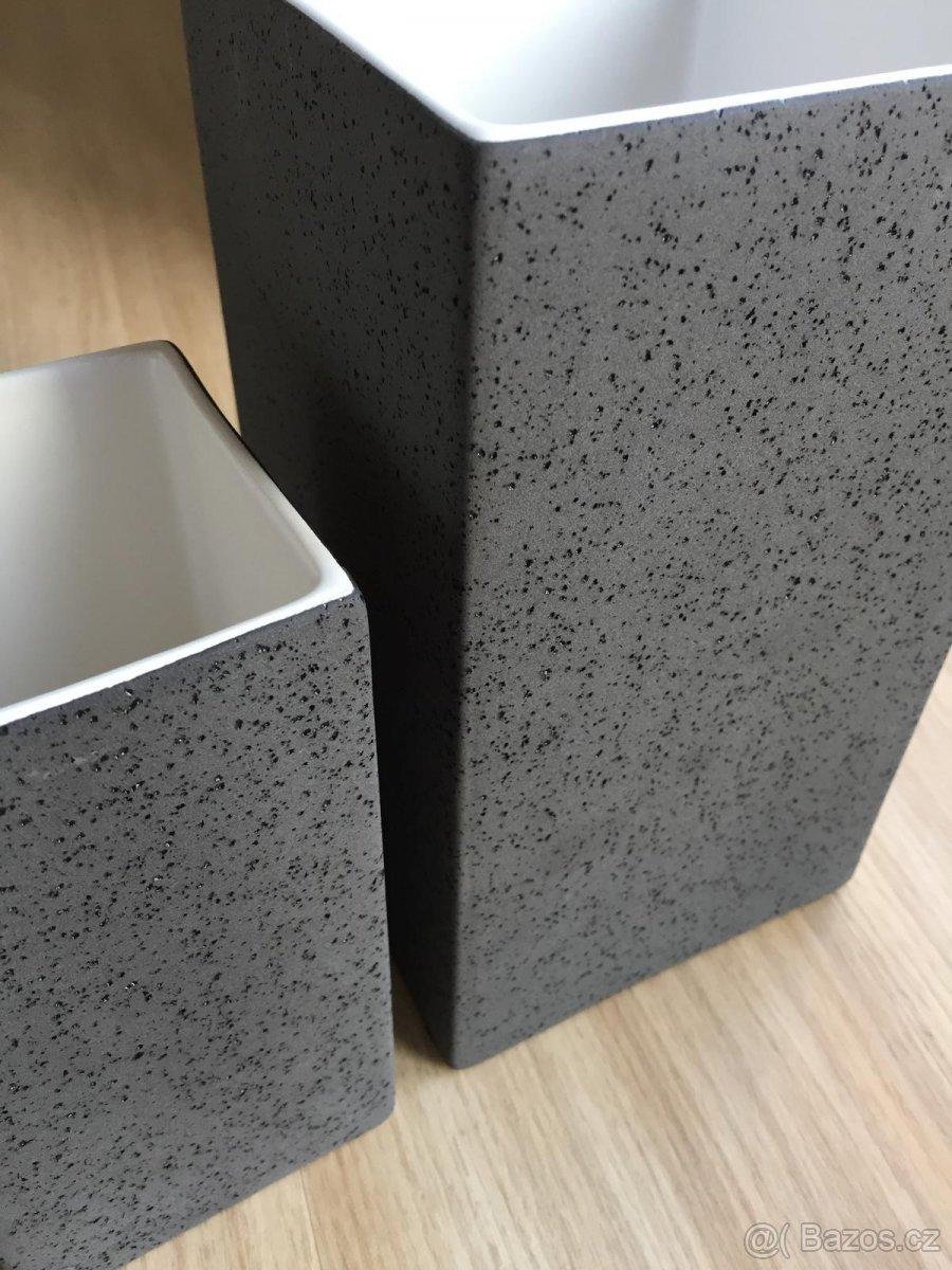 Vázy Quadro Lava (ASA Selections) - Obrázek č. 3