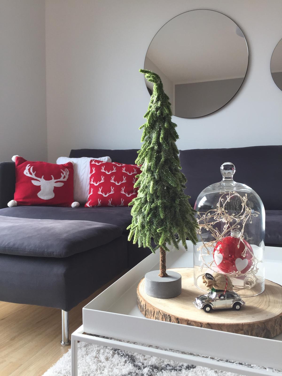 Červená mikroplyšová deka My House Winter, 150 x 200 cm - Obrázek č. 3