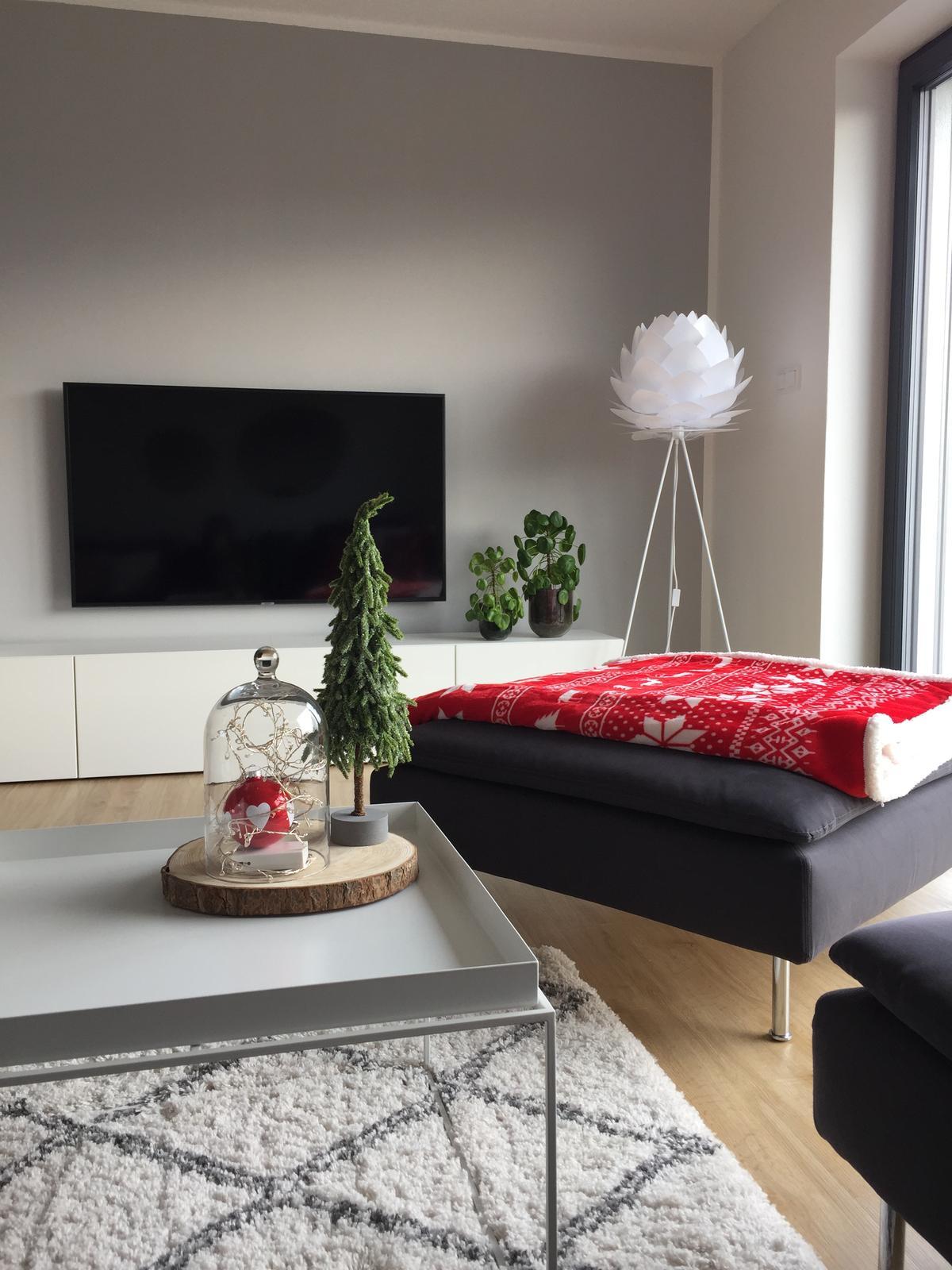 Červená mikroplyšová deka My House Winter, 150 x 200 cm - Obrázek č. 4