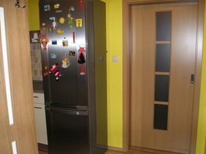 vchod do kuchyne, dvere do obývačky