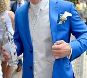 Pánská vesta s vázankou BANDI, 52