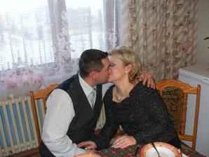...naše zásnuby, na vianoce...