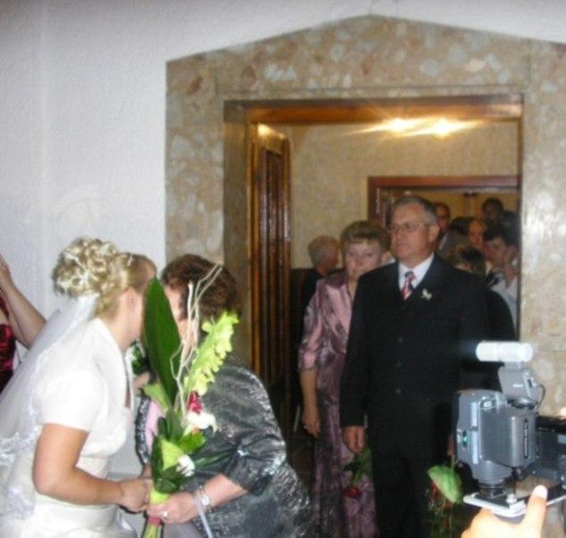 Tímea Tušaiová{{_AND_}}Jozef Mitro - ...gratulácie od rodičou...
