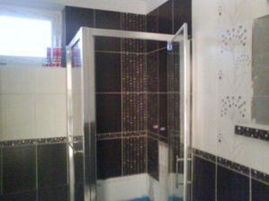 sprchovaci kut,ešte nedokončený