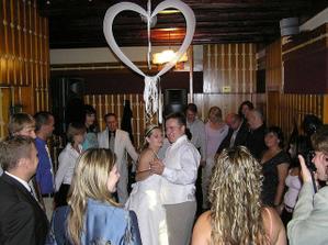 první manželský taneček