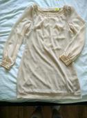 šaty-tunika v.40 barva pudrová, 40